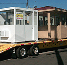 Special shipping rates on prefabricated booths