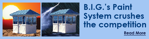 Protect your booth investment with paint system from BIG