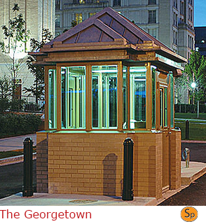 The Georgetown - Multi-Sided Guard Booth