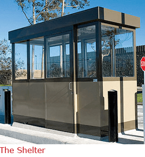 The Shelter - Guard/ Parking Booth with Custom Look