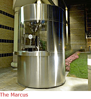 The Marcus - Stainless Steel Valet Booth