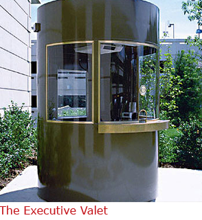 Executive Valet - Security Booth with Elegant Look