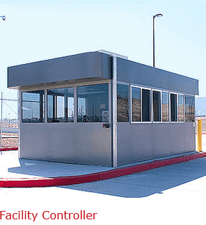 Full size guard booth designed for any climate