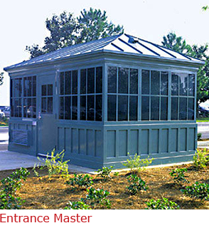 Entrance Master - booth with classic style