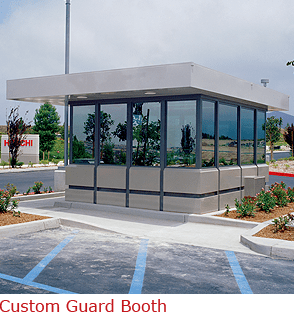Ready to install Custom Guard Booth