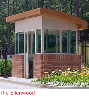 The Ellenwood - Attractive Booth with Raised Panel Effect
