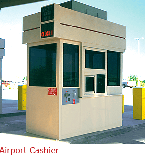 Cashier Attendant Booth for Harsh Climate