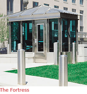 The Fortress - Stainless Steel Booth