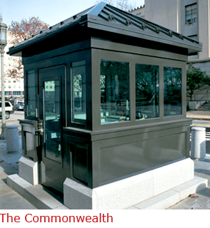 The Commonwealth - Booth with Bullet Resistant Construction