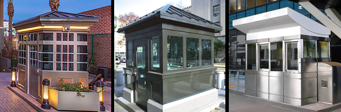 Guard Booths, Security Booths, Guard houses & Portable Guard
