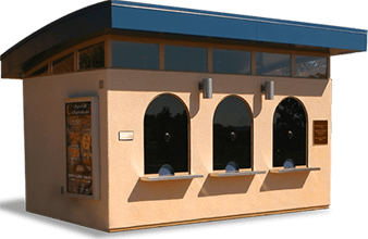 Building specifications for guard booth
