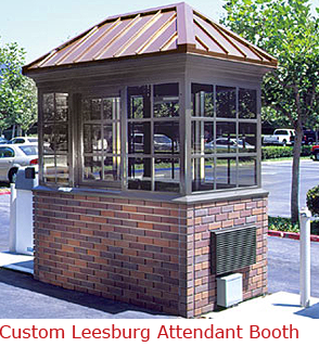 Custom Leesburg - Custom Attendant Booth