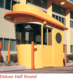 Deluxe Half Round - Practical Booth with Multiple Curves