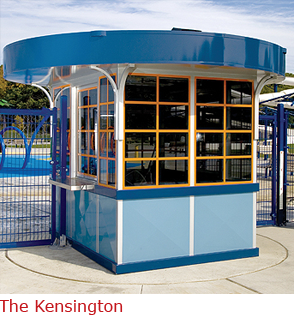 The Kensington - Booth with Worker Friendly Features