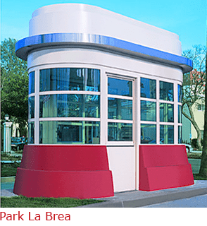 Park La Brea -Booth with Custom Build Lower Walls