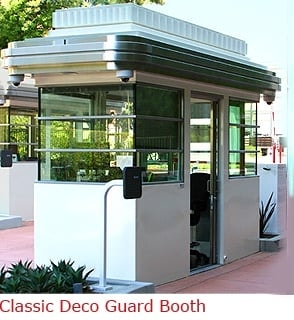 Classic Deco Guard Booth with Tailor Made Features
