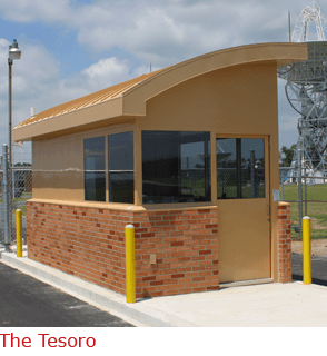 The Tesoro - booth with complete restroom area