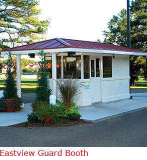 Booth with  superior quality, and architectural integrity