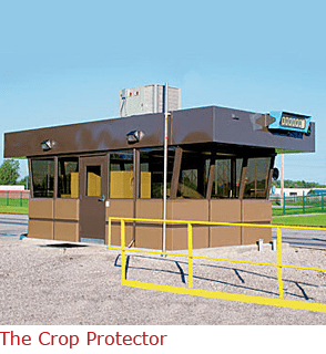 The Crop Protector - pre-fab guard booth