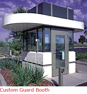 Custom Guard Booth with Architectural Superiority
