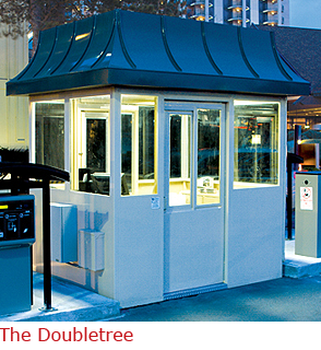The Doubletree - Booth with Architectural Roof