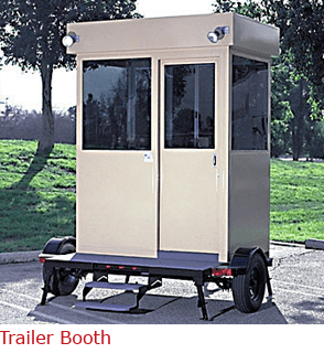Trailer Booth - Fully Self Contaibed Booth